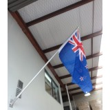 FP-04A Flagpole 8Ft Angled with Bracket